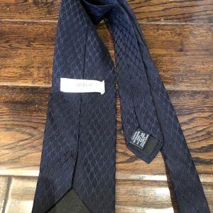 Armani Collezioni Accessories - Armani Collezioni Black Neck Tie